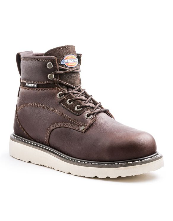 Cannon Men's Soft Toe Work Boots - BURGUNDY (BY)