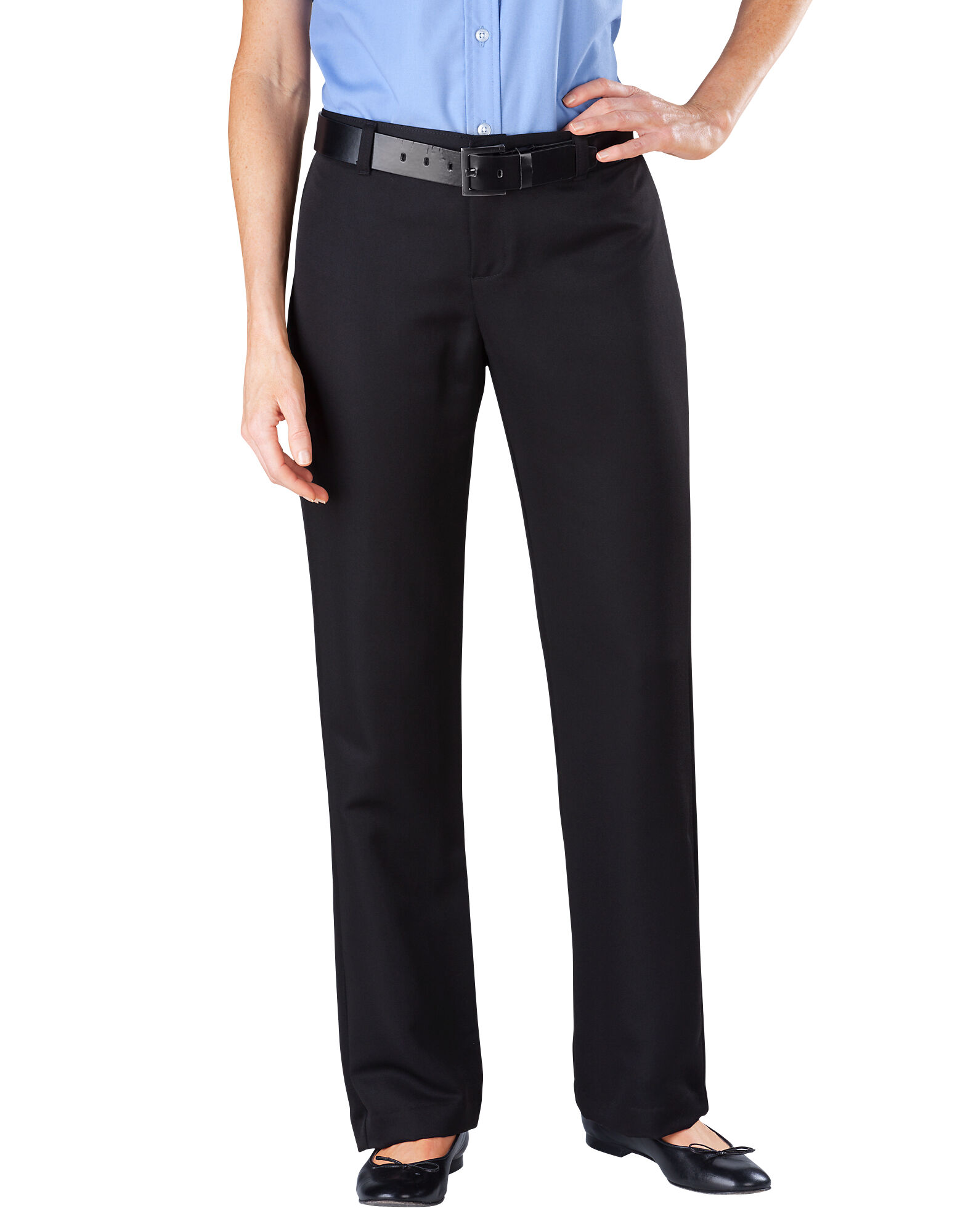 Women's Relaxed Fit Pocketless Micro Denier Pant | Womens Pants ...