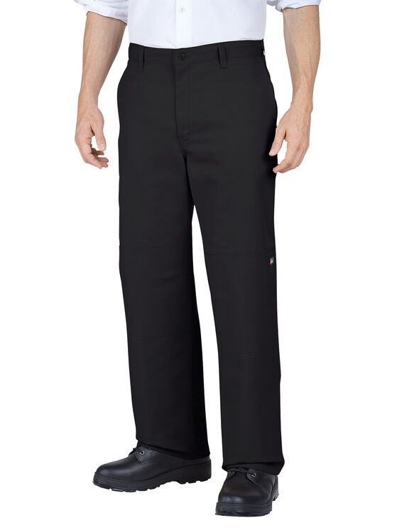 Genuine Dickies Double Knee Multi Use Pocket Pants - BLACK (BK)