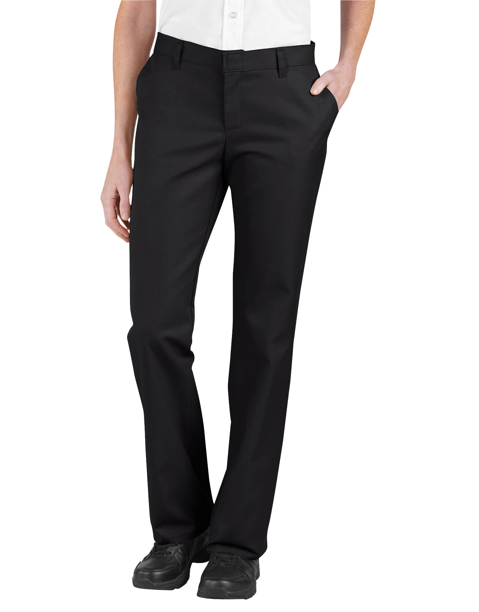 Women's Relaxed Fit Flat Front Pant | Dickies