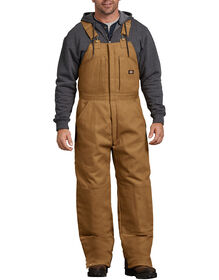 Duck Insulated Bib Overalls - BROWN DUCK (BD)
