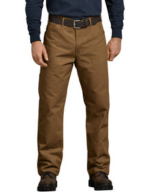 Relaxed Fit Straight Leg Carpenter Duck Jeans - RINSED BROWN DUCK (RBD)