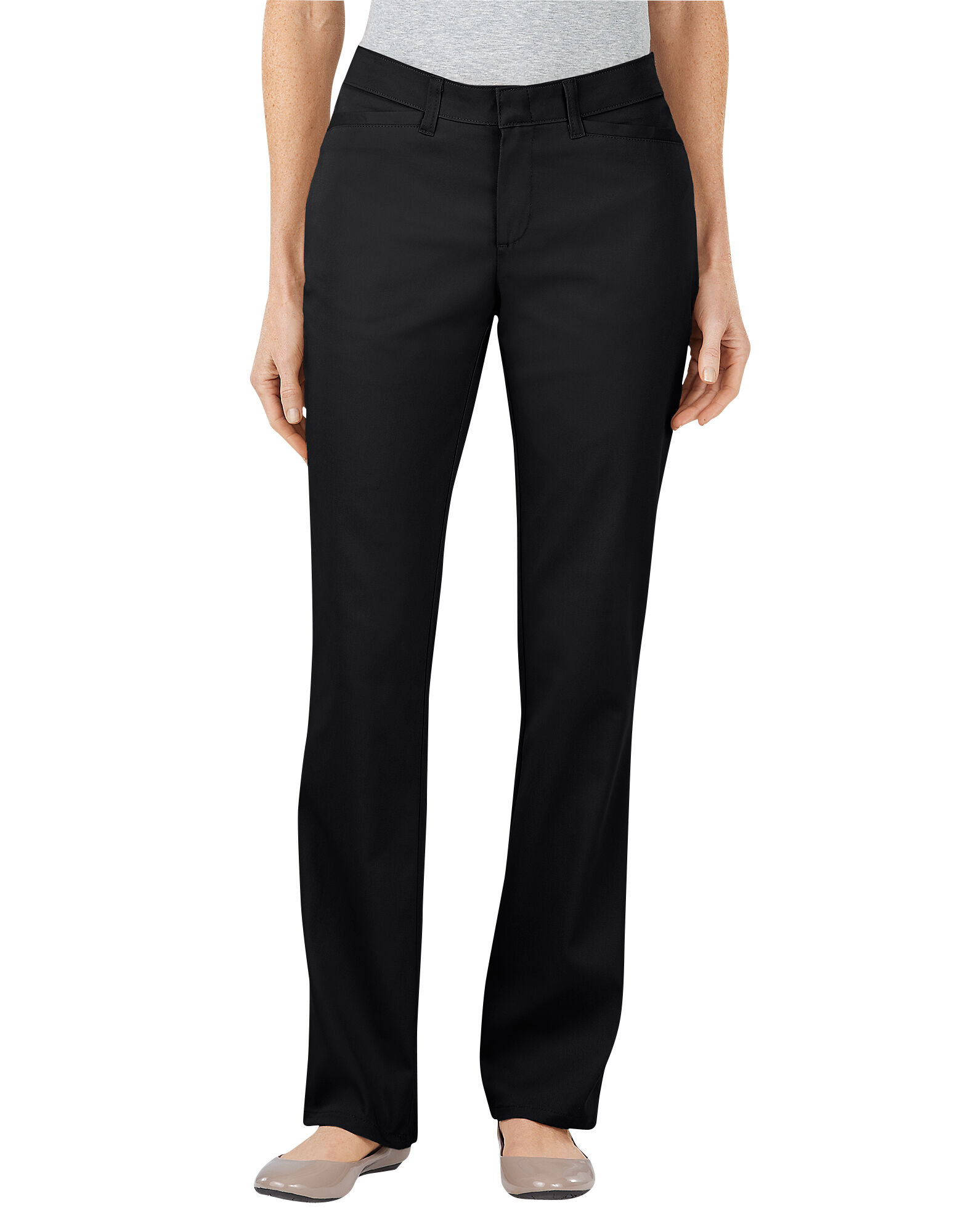 Women's Curvy Fit Straight Leg Stretch Twill Pant | Womens Pants ...