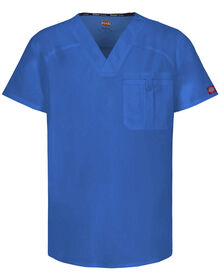 Men's EDS Signature V-Neck Scrub Top with Certainty® - ROYAL BLUE (RB)