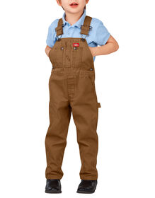 Toddler Duck Bib Overalls - RINSED BROWN DUCK (RBD)