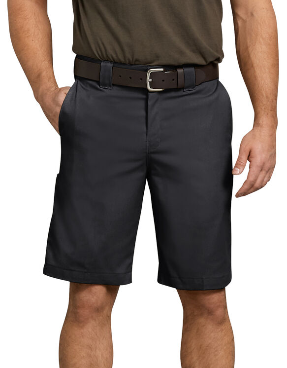 "FLEX 11"" Relaxed Fit Work Shorts - BLACK (BK)"