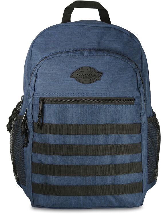 Campbell Ripstop Heather Navy Backpack - Heather Navy (NVH)