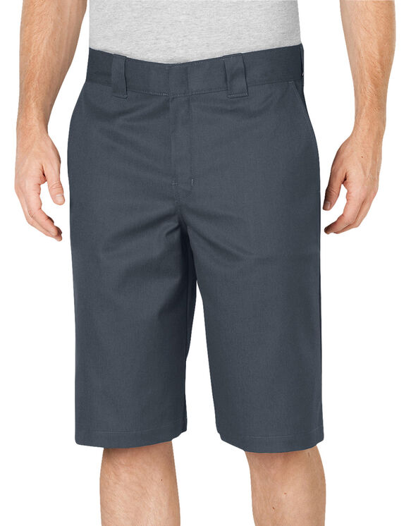 "FLEX 13"" Relaxed Fit Work Shorts - Charcoal Gray (CH)"