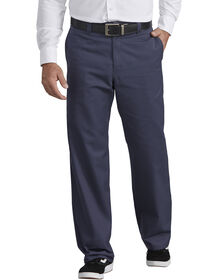 Industrial Flat Front Pants - Navy Blue (NV)
