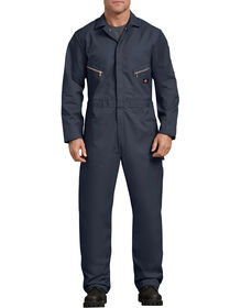 Deluxe Blended Long Sleeve Coveralls - Dark Navy (DN)