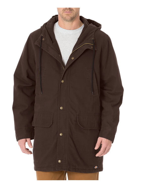 Sanded Duck Field Coat - RINSED CHOCOLATE BROWN (RCB)