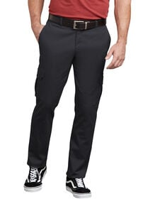 Dickies X-Series Active Waist Washed Cargo Chino Pants - Rinsed Black (RBK)