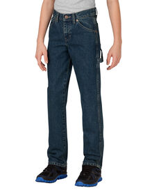 Boys' FlexWaist® Relaxed Fit Straight Leg Denim Carpenter Jeans, 4-7 - Heritage Tinted Khaki (THK)