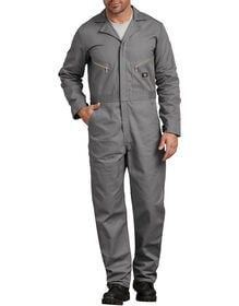 Deluxe Cotton Long Sleeve Coveralls - Gray (GY)