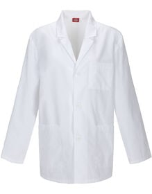 Men's EDS Signature Washed Consultation Lab Coat - White (DWH)