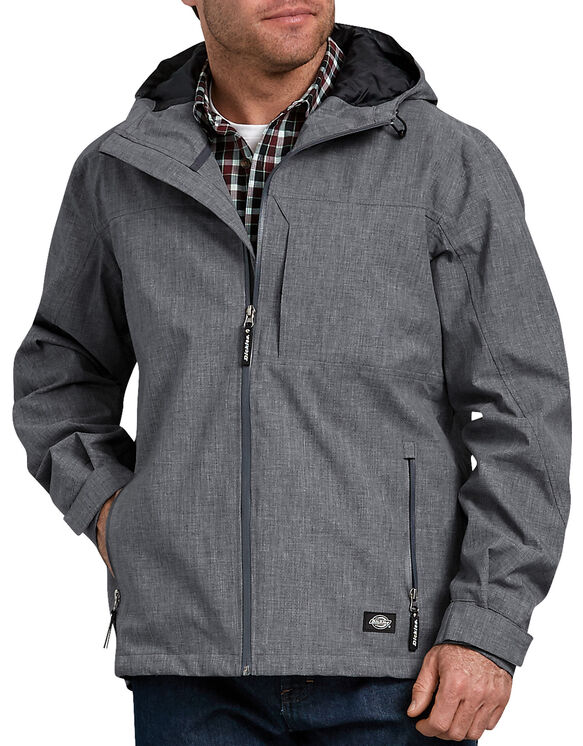 Water-Resistant Breathable Reflective Print Jacket - Reflective Crosshatch (PRC)