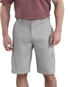"11"" FLEX Temp-iQ™ Active Waist Cargo Shorts - Smoke Gray (SM)"
