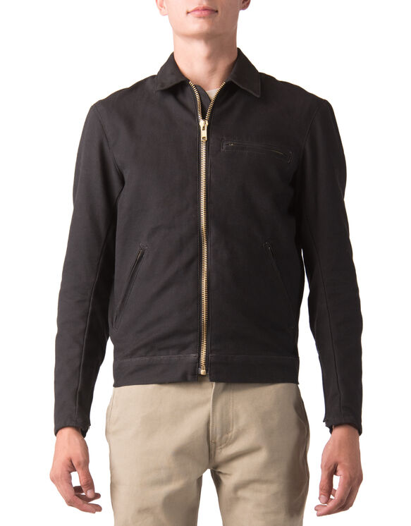 Dickies Moto Eisenhower Jacket - Black (BK)