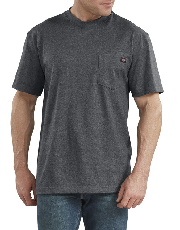 Short Sleeve Heavyweight Heathered T-Shirt - Charcoal Gray Heather (CGH)
