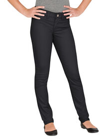 Girls' Super Skinny Fit Skinny Leg Pants, 7-16 - Rinsed Black (RBK)