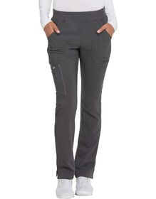 Women's Advance Mid Rise Tapered Leg Pull-On Scrub Pants - Pewter Gray (PEW)
