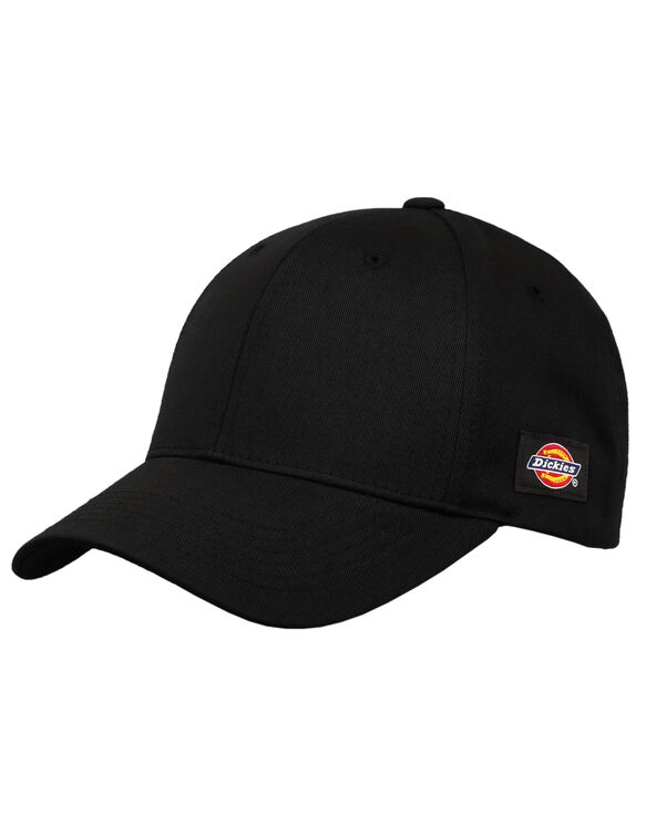 Velcro Adjustable Hat - Black (BK)