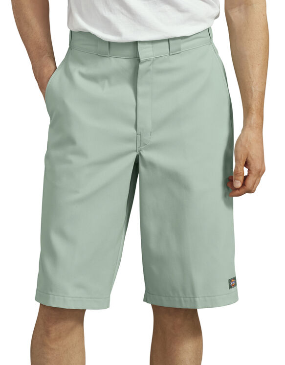 "13"" Loose Fit Multi-Use Pocket Work Shorts - Harbor Gray (RY)"