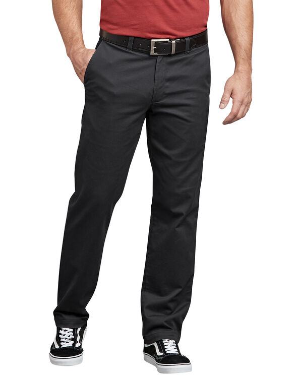 Dickies X-Series Active Waist Washed Chino Pants - Black (RBK)