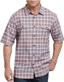 Icon Relaxed Fit Yarn Dyed Shirt - Blue Orange While Plaid (SWBN)