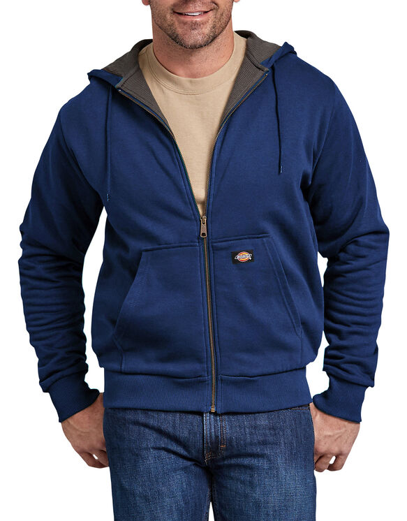 Thermal Lined Fleece Hoodie - Deep Blue (EL)