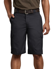 "FLEX 11"" Regular Fit Cargo Shorts - Black (BK)"