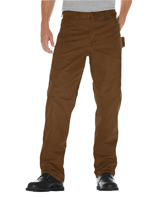 Relaxed Fit Straight Leg Carpenter Duck Jean - RINSED TIMBER (RTB)