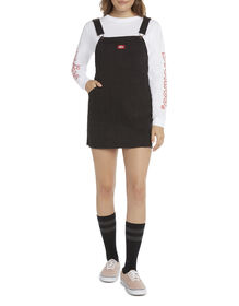 Dickies Girl Juniors' Overall Dress - Black (BK)
