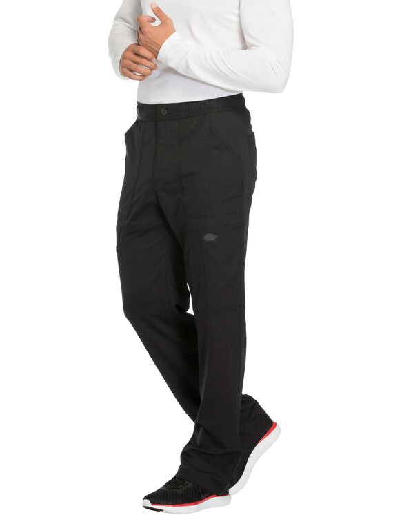 Men's Dynamix Cargo Scrub Pants - Black (BLK)