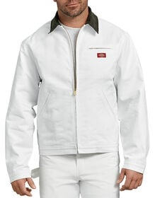 Painter's Flannel Lined Jacket - White (WH)