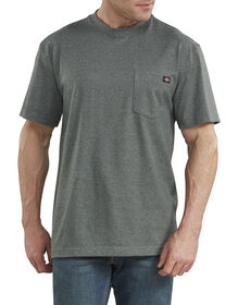 Short Sleeve Heavyweight Heathered T-Shirt - Hunter Green (GHH)