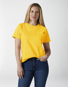 Women's Short Sleeve Heavyweight T-Shirt - Yellow (DN1)