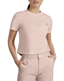 Dickies Urban Outfitters Heavyweight Cropped T-Shirt - Lotus Pink (LO2)