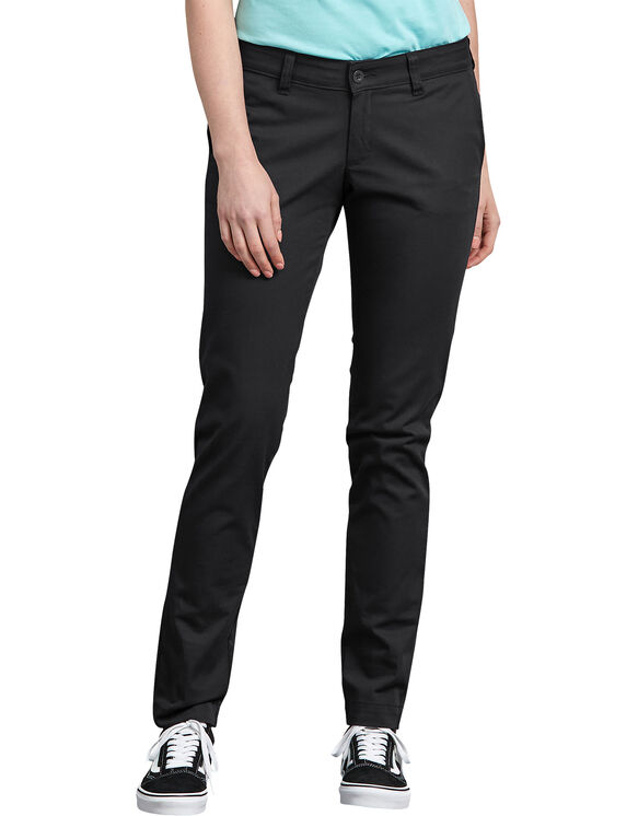 Women's Stretch Twill Pants - Rinsed Black (RBK)