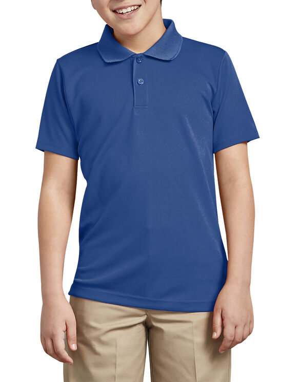 Adult Size Performance Polo Shirt - Royal Blue (RB)