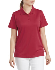 Women's Performance Polo Shirt - Apple Red (LR)