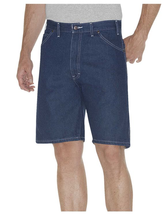 "9.5"" Relaxed Fit Carpenter Shorts - Rinsed Indigo Blue (RNB)"