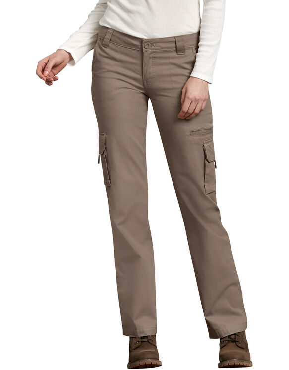 Women's Relaxed Cargo Pant - RINSED PEBBLE BROWN (RNP)