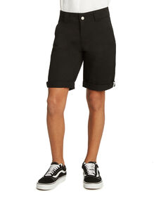 Boys' Relaxed Fit Utility Shorts - Black (BK)