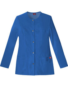 Women's Gen Flex Snap Front Warm-Up Jacket - Royal Blue (RB)