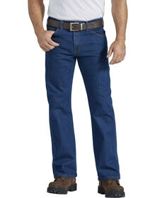 FLEX Active Waist 5-Pocket Regular Fit Jeans - Rinsed Indigo Blue (RNB)