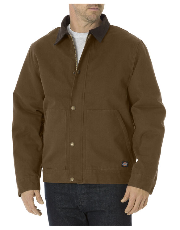 Sanded Duck Sherpa Lined Jacket - TIMBER BROWN (TB)