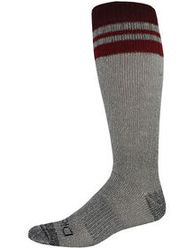 Wool Thermal Crew Socks, 2 Pack, Size 6-12 - Red (RD)