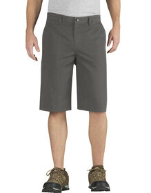 Genuine Dickies Ripstop Shorts - Rinsed Gravel Gray (RVG)