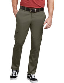 Dickies X-Series Active Waist Washed Cargo Chino Pants - Moss Green (RMS)